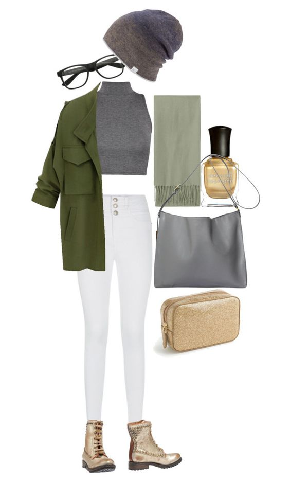 """""""Untitled #43"""" by doubleagne ❤ liked on Polyvore featuring WearAll, Coal, Ash, Topshop, Deborah Lippmann, STELLA McCARTNEY and J.Crew"""