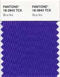 Blue Iris pantone smart swatch