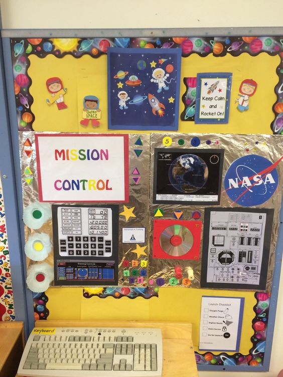 nasa mission control dramatic play ideas - photo #14