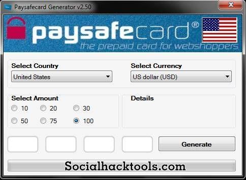 Paysafecard Codes Generator 2018 Unlimited Code List Coding Generation Tool Hacks