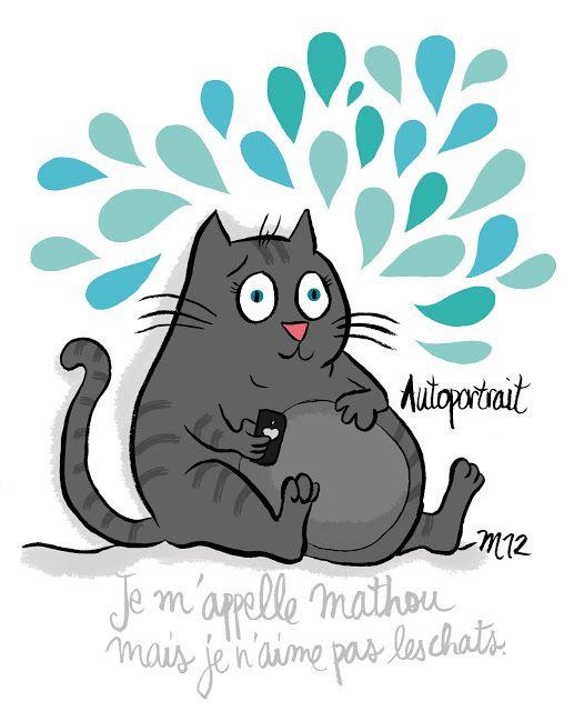Mathou - Autoportrait  Illustration blog Crayon d'Humeur  <a href=