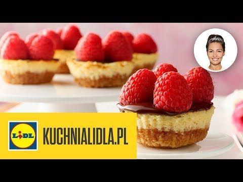 Miniserniczki Bez Laktozy Kinga Paruzel Kuchnia Lidla Desserts Food Mini Cheesecake
