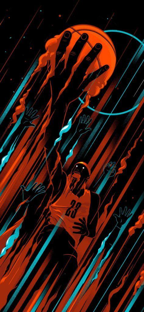 Basketball Iphone X Wallpaper Hd Basketball Iphone Wallpaper