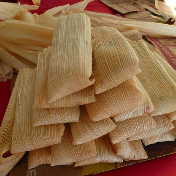 skinnytaste tamales | Tamales De Pollo Con Chile Verde- Green Chile Chicken Tamales Recipe ...