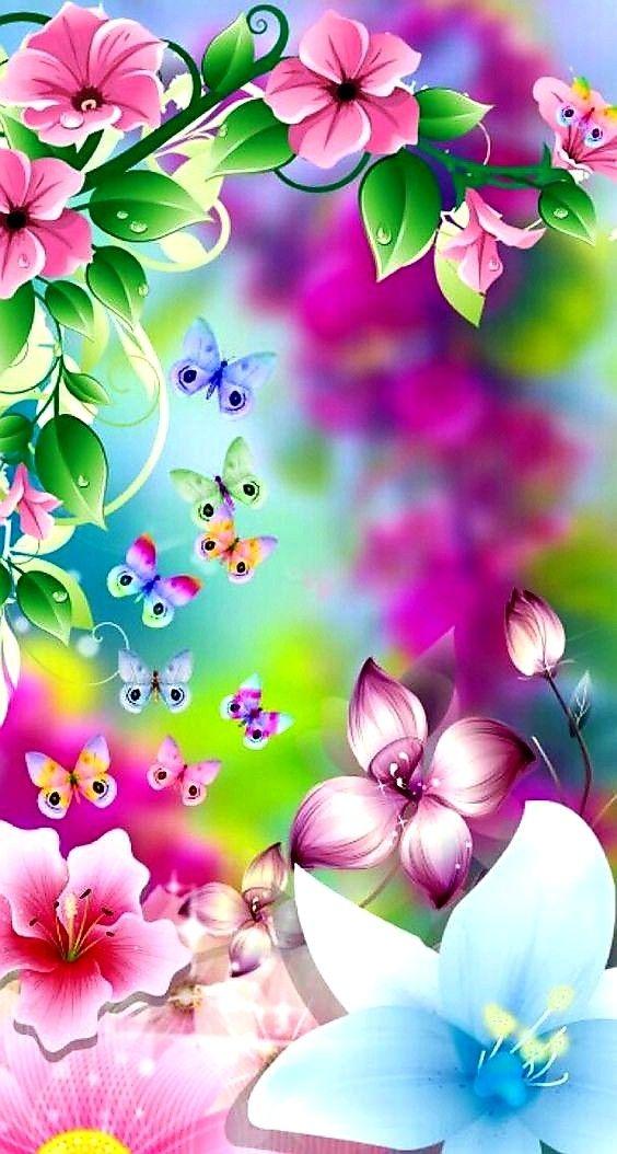 Pin By Raghunath On Florzinha 2 Flower Background Wallpaper Flowery Wallpaper Flower Backgrounds Fantastic live flower wallpaper