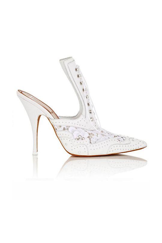 白波鞋以外,你還有更多選擇:新季購物清單-純淨白鞋!