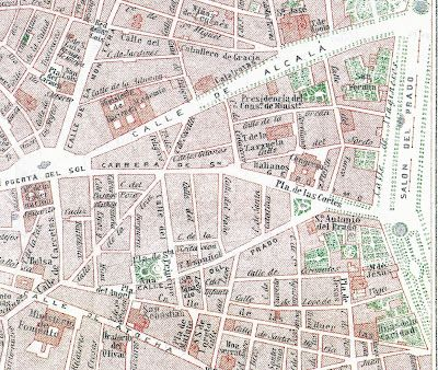 Madrid palaces and solar on pinterest for Hoteles en la calle prado de madrid