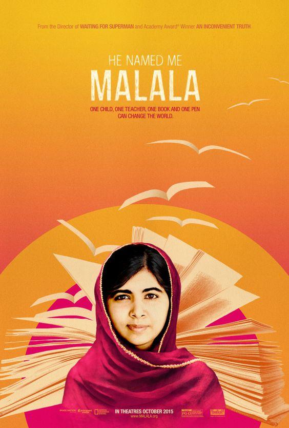He Named Me Malala - looks good.