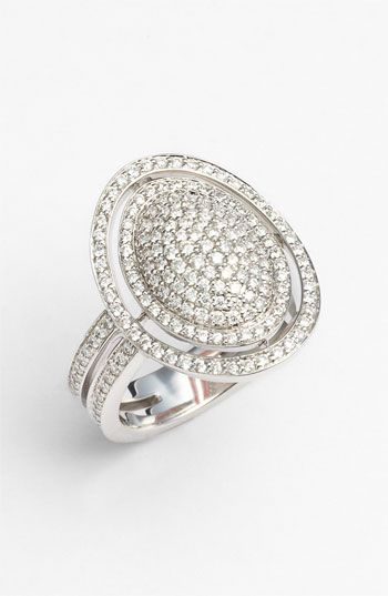 Ivanka Trump 'Signature' Pavé Diamond Ring available at #Nordstrom #Nordstromweddings