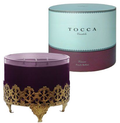 tocca candle... great packaging