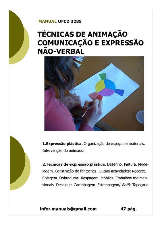 ufcd 3285 - Técnicas de animação comunicação e expressão não verbal