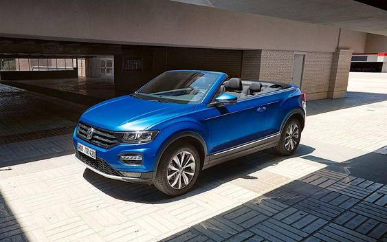 Volkswagen T Roc Cabrio En Espana Precios Equipamiento Y Versiones En 2020 Volkswagen Sensor De Lluvia Asientos Deportivos