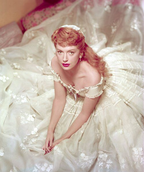 The King and I (1956) Deborah Kerr as Anna Leonowens. #CostumeDesign: Irene Sharaff - what a picture!