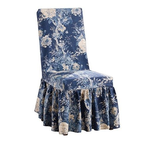 Ballad Bouquet Dining Room Chair Sure Fit Target Slipcovers For Chairs Dining Chair Slipcovers Dining Room Chair Covers