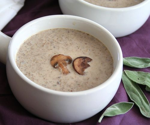 Mushroom soup, Mushrooms and Soups on Pinterest