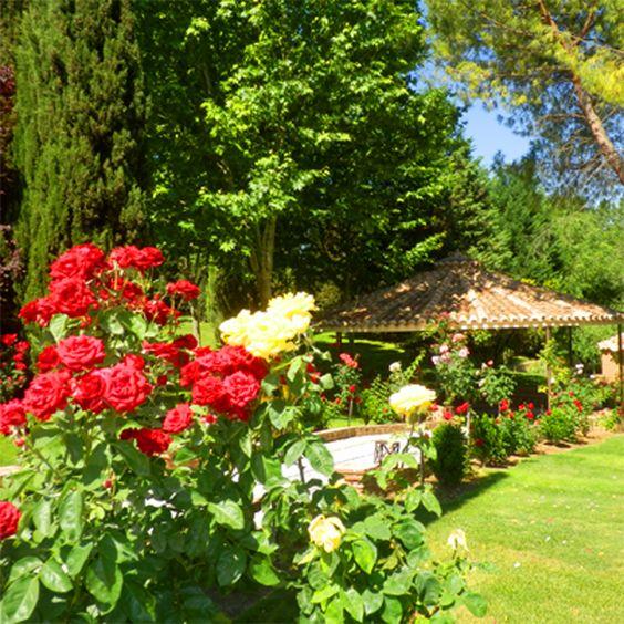 """""""Celebré mi boda en el cigarral el pasado verano. Todos mis invitados quedaron encantados por la belleza de los jardines, las magnificas vistas... todos me felicitaron por la elección del sitio. Desde luego, fue un acierto"""" Ana. Celebró su boda en el Cigarral del Ángel. (Opinión en google+) #CigarralToledo #EventosToledo #BodasToledo"""