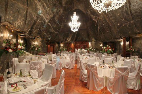 Underground Wedding A Salt Mine Near Krakow Weddings Pinterest Venues And Unusual