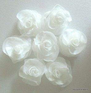 Escola de Bolos: ensina flores em papel de Arroz | Blog da Mago