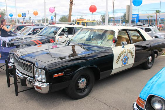 #Vintage Highway Patrol Cruiser Chapman #LasVegas
