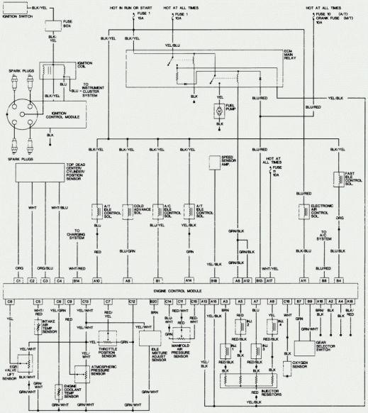 15 1997 Honda Accord Engine Wiring Diagram Engine Diagram Wiringg Net Honda Accord Repair Guide Electrical Wiring Diagram