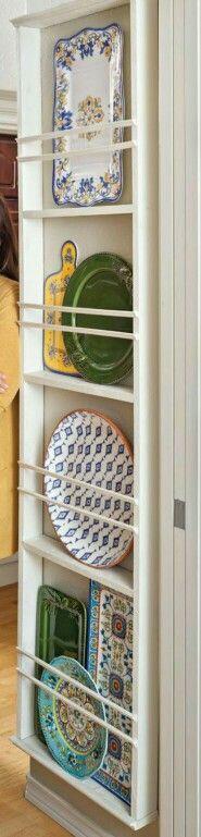 Platter storage: