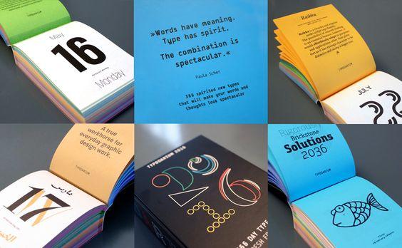 Typodarium 2016: The Daily Dose of #Typography @VerlagHSchmidt #xmas #tipp #fonts #calendar #weihnachten #typodarium