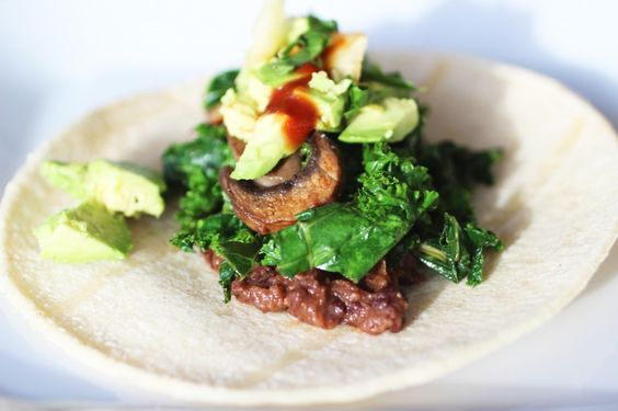 Vegetable Taco | Quick and Healthy | Pinterest | Guacamole, Tacos and ...