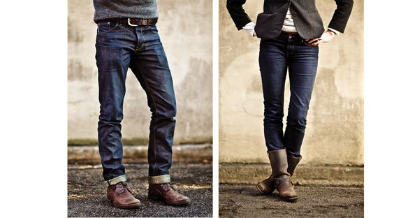 Raleigh Denim.  Jeans made right in the heart of downtown Raleigh.