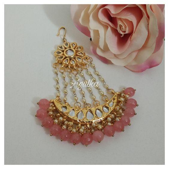 Green Earrings Indian Earrings Indian Jewelry Chaanbali Meenakari Earrings Jhumki Earrings Punjabi Earrings Gold Plated Earrings
