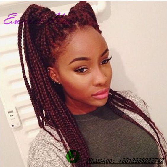... box braids hair xpression braiding hair Synthetic crochet braids hair