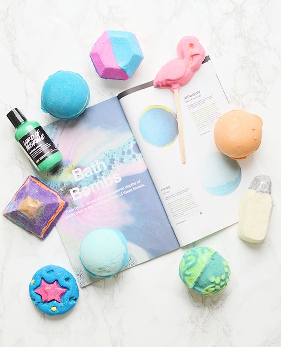 LUSH bath bombs and bubble bars for fall 2015 | oliveandivyblog.com: