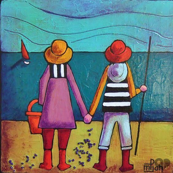 Art Lover Place - à l'horizon 2 (Peinture) par Marie-Pierre JAN