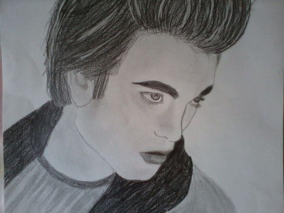 Tentando desenhar um Edward.