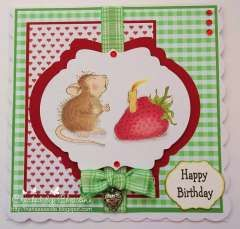 """""""Happy Birthday"""" by Christine Craig on House-Mouse Designs"""