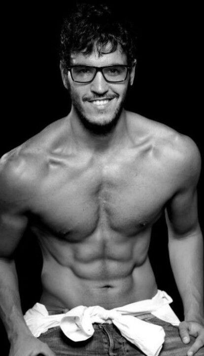 Men with muscles are hot, but men with muscles AND glasses...*swoon*