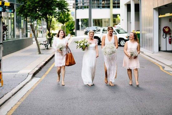 Industrial Chic Wedding   Photo by Tricia King http://triciaking.com.au/