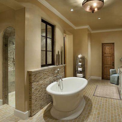 Bath photos walk through shower design pictures remodel for Walk through shower plans