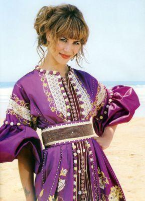 Karima Adebib Moroccan Caftan