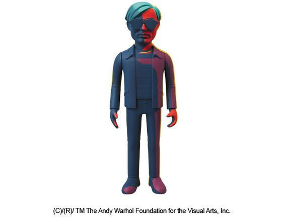 MEDICOM TOY – Andy Warhol VCD Figures