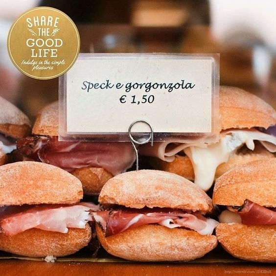 Speck and gorgonzola panini anyone? #alwaysfreshau #alwaysfreshgoodlife #Italy #yum #everydaygourmet