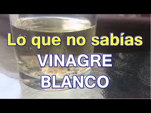 Vinagre blanco y limon para adelgazar