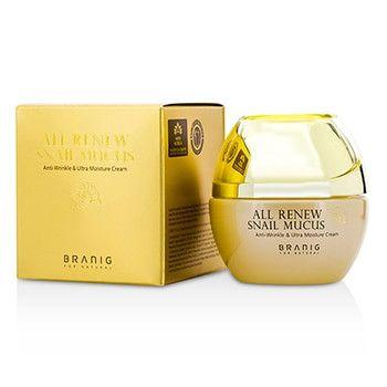 Branig All Renew Snail Mucus - Night Care All Renew Snail Mucus Anti-Wrinkle & Ultra Moisture Cream