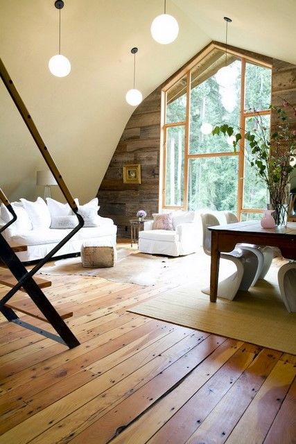 love the floors, window and paneled wall