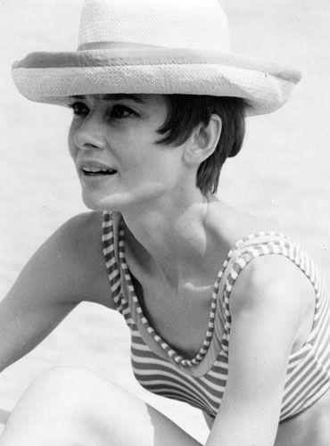 Audrey Hepburn: the Venice Lido, mid 60's.