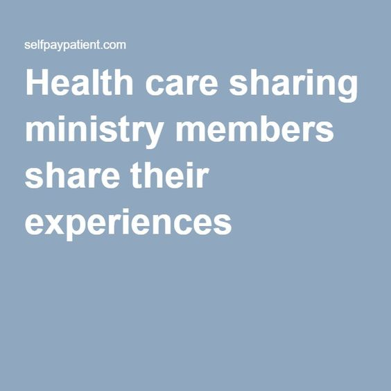 Health care sharing ministry members share their experiences |