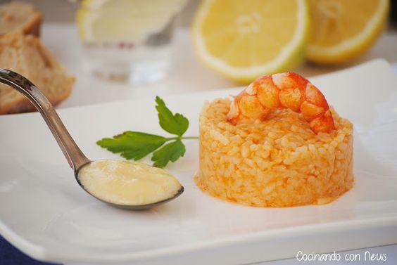 arroz a banda con all i oli | ARROZ | Pinterest