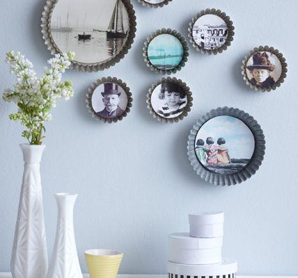 ideen mit bilderrahmen kreativ selber machen und backen. Black Bedroom Furniture Sets. Home Design Ideas