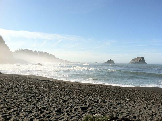 Northern California coast near Klamath, CA.