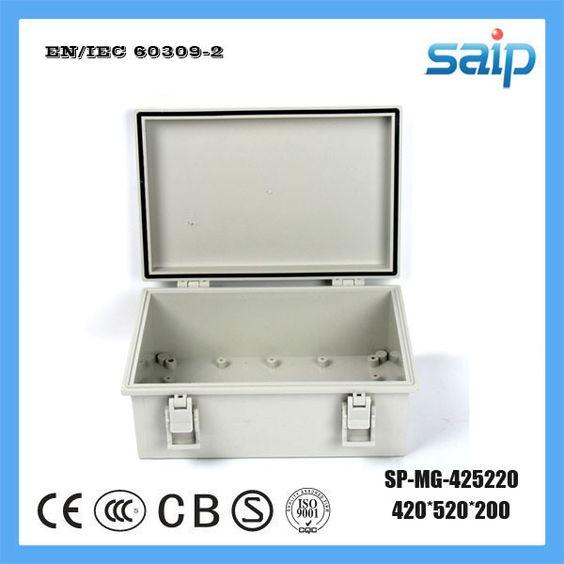 Saip ABS Material 420*520*200 IP66 Plastic Junction Waterproof Enclosure