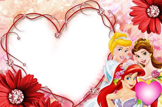 MARCOS PARA FOTOS GRATIS: marcos de princesas